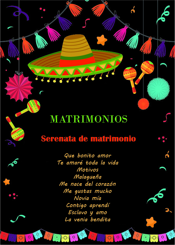 mariachis bogota servicio matrimonio