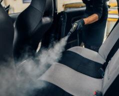 servicio lavado autos trabajador masculino guantes limpia asientos limpiador vapor limpieza seco profesional interior coche 266732 3543